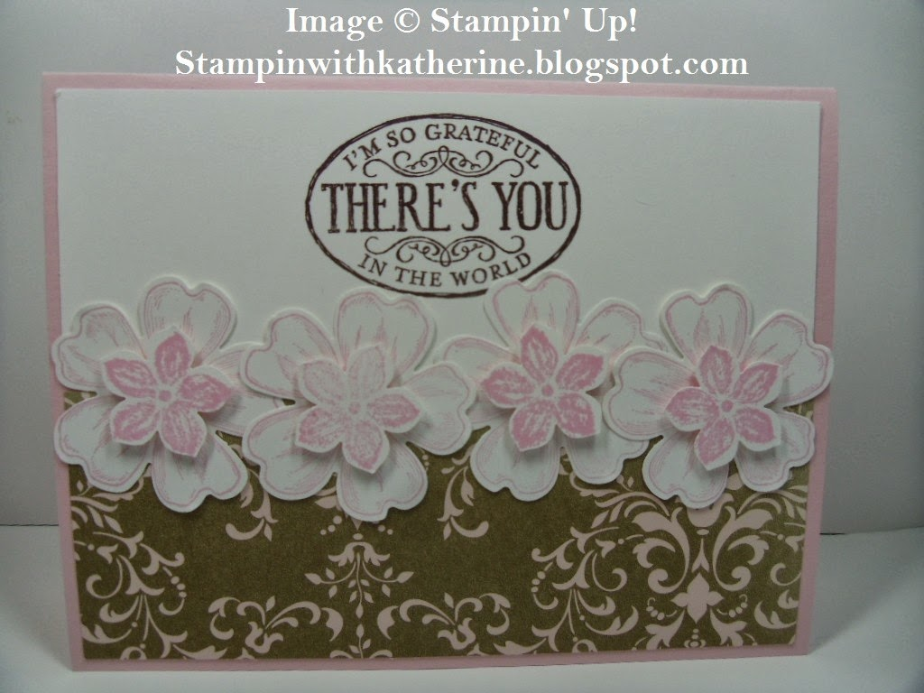 stampin with katherine stampin' up flower shop  petite