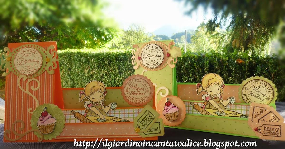 Il giardino incantato di alice un doppio happy birthday - Il giardino di alice ...