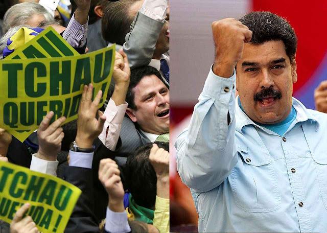 Maduro reage contra impeachment e defende Dilma e 'soberania' ameaçada pelo 'império'