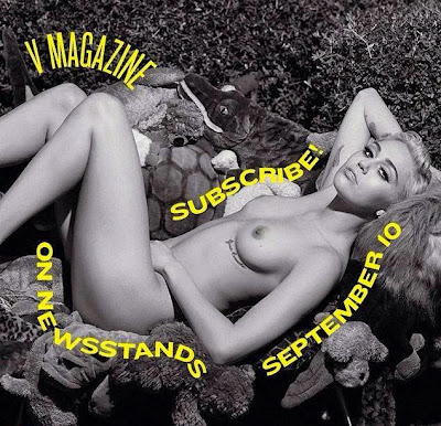 Miley Cyrus, V magazine Sept. 2014