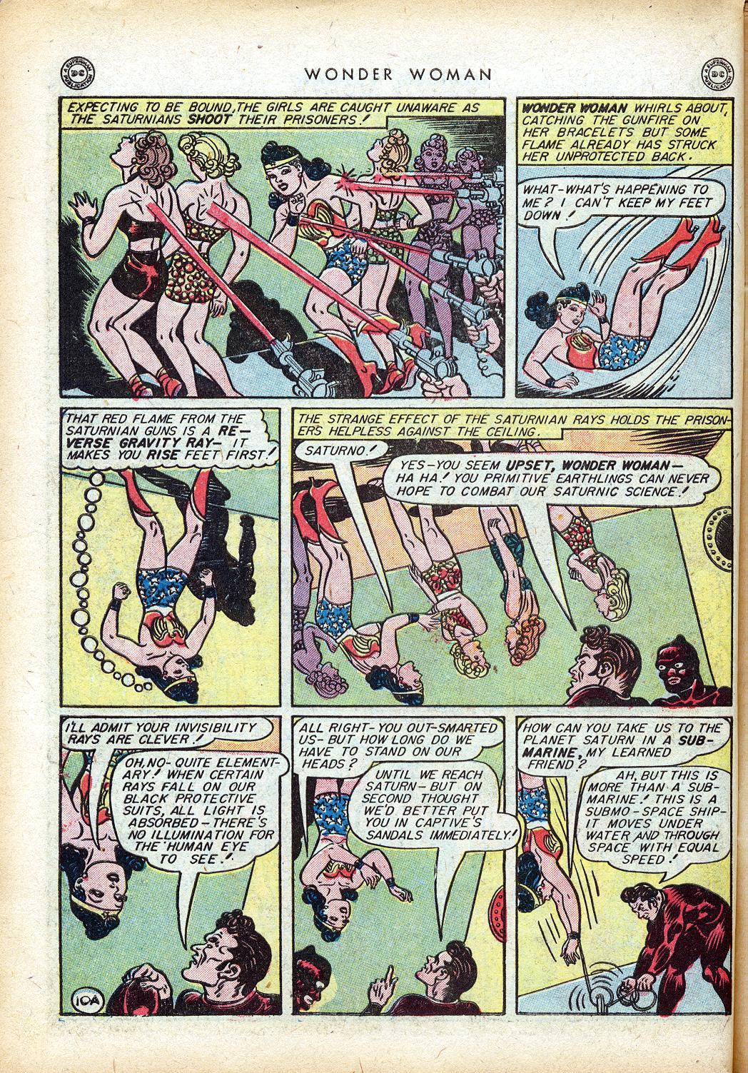 Read online Wonder Woman (1942) comic -  Issue #10 - 13