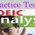 Listening Practice Test  2 - TOEIC Analyst