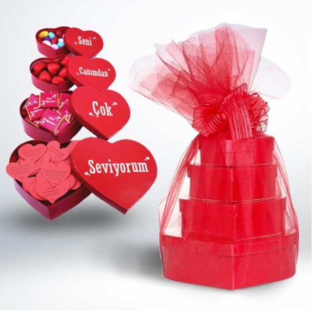 sevgili için hediye