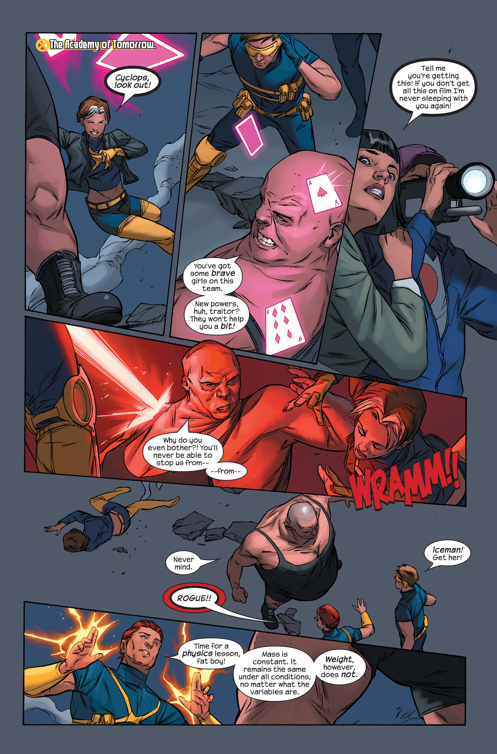 Read online Ultimate X-Men comic -  Issue #71 - 9