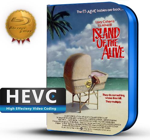It's Alive III: Island of the Alive (1978) 1080P HEVC-8Bits BDRip Ingles (Subt.Esp)(Terror)