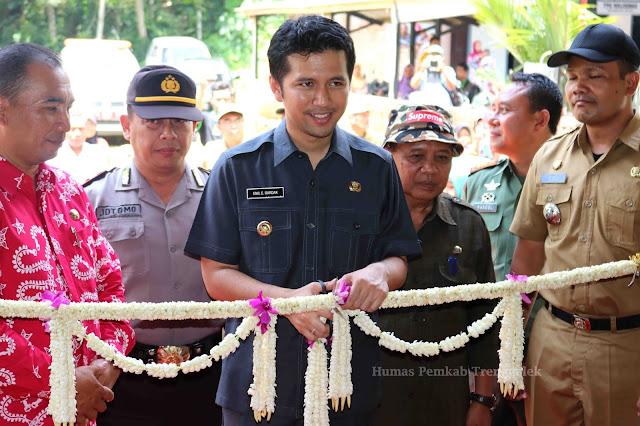 Resmikan Rumah Durian, Bupati Emil Dorong Durian Trenggalek Lebih Berdaya