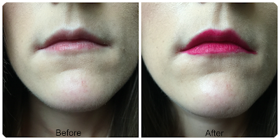 before and after revlon ultra hd matte lip colour obsession