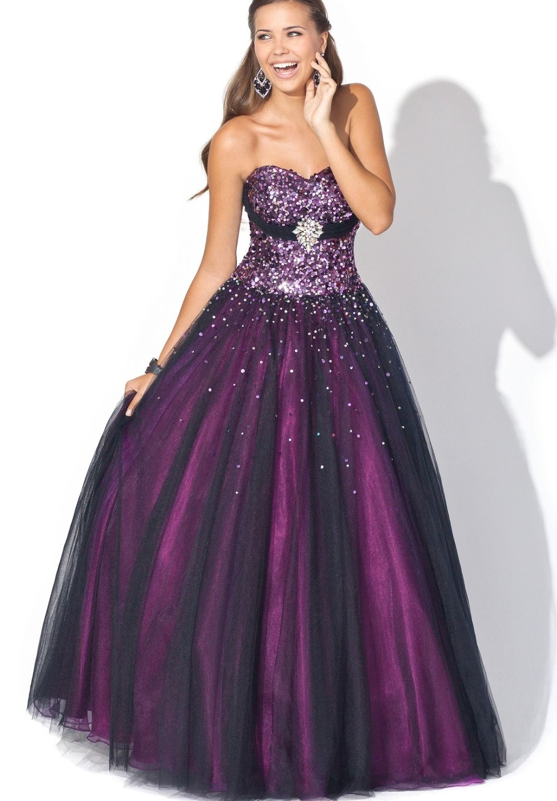 WhiteAzalea Ball Gowns: 2013 Stunning Purple Ball Gown ...