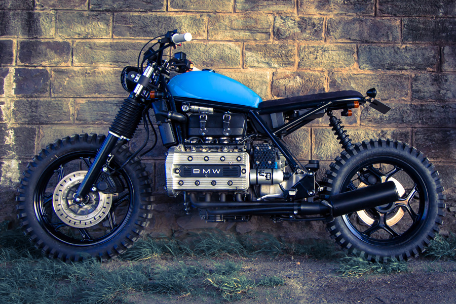 Scrambler K100 Ed Turner Rocketgarage Cafe Racer Magazine