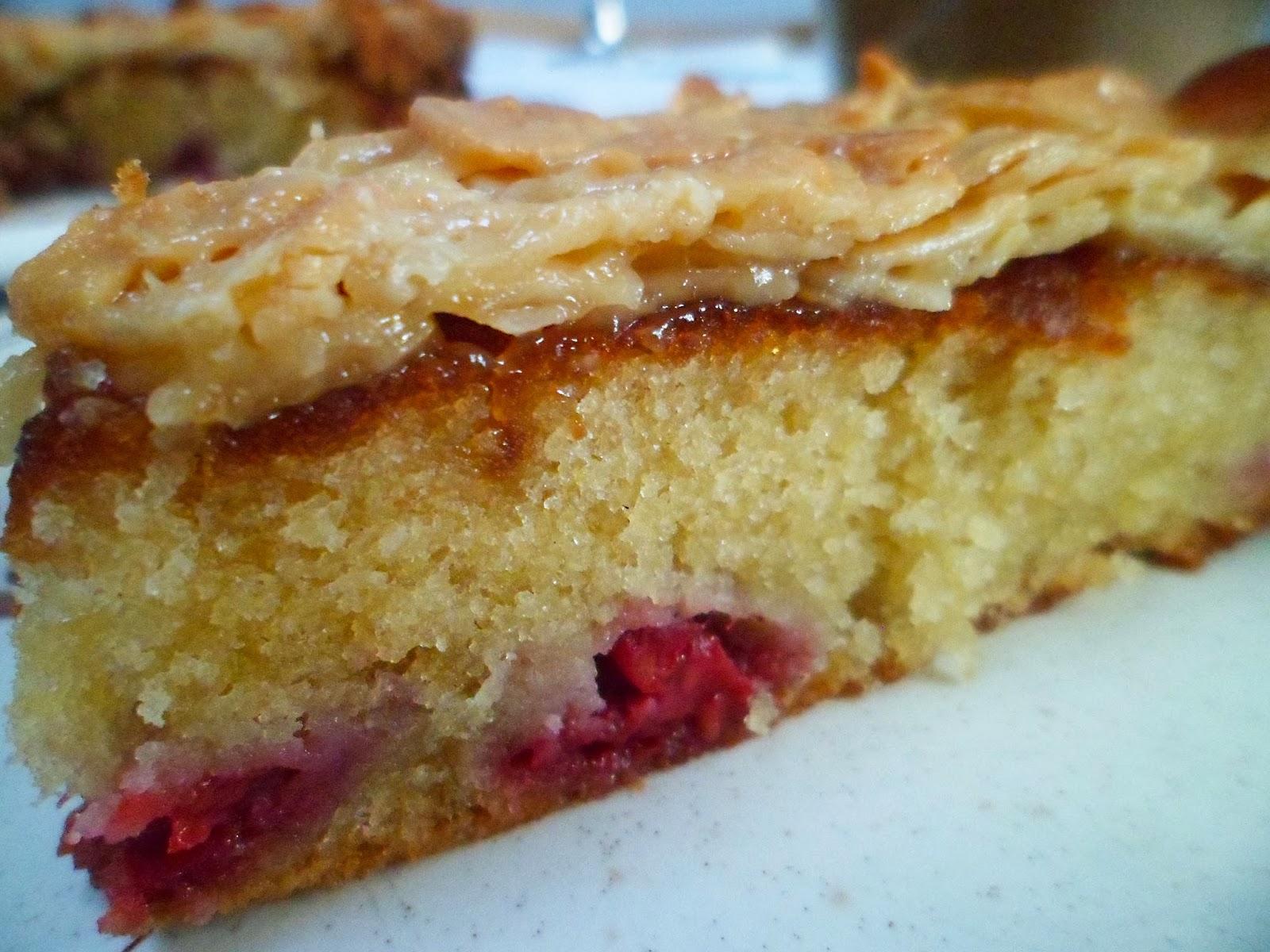 Almond Tosca Cake Recipe