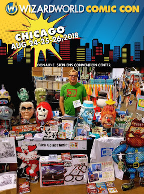I am returning to Wizard World Chicago August 24-26.  Lot's to talk about and share! Click image!