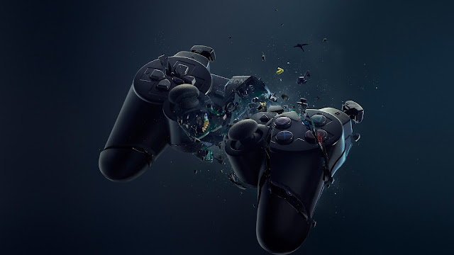 playstation, gamepad,