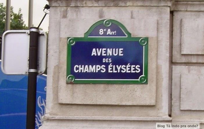 Avenue des Champs Élysèes Paris