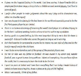 Kata Kata Bijak, Motivasi, Inspiratif Cristiano Ronaldo Versi Indonesia Dan Inggris