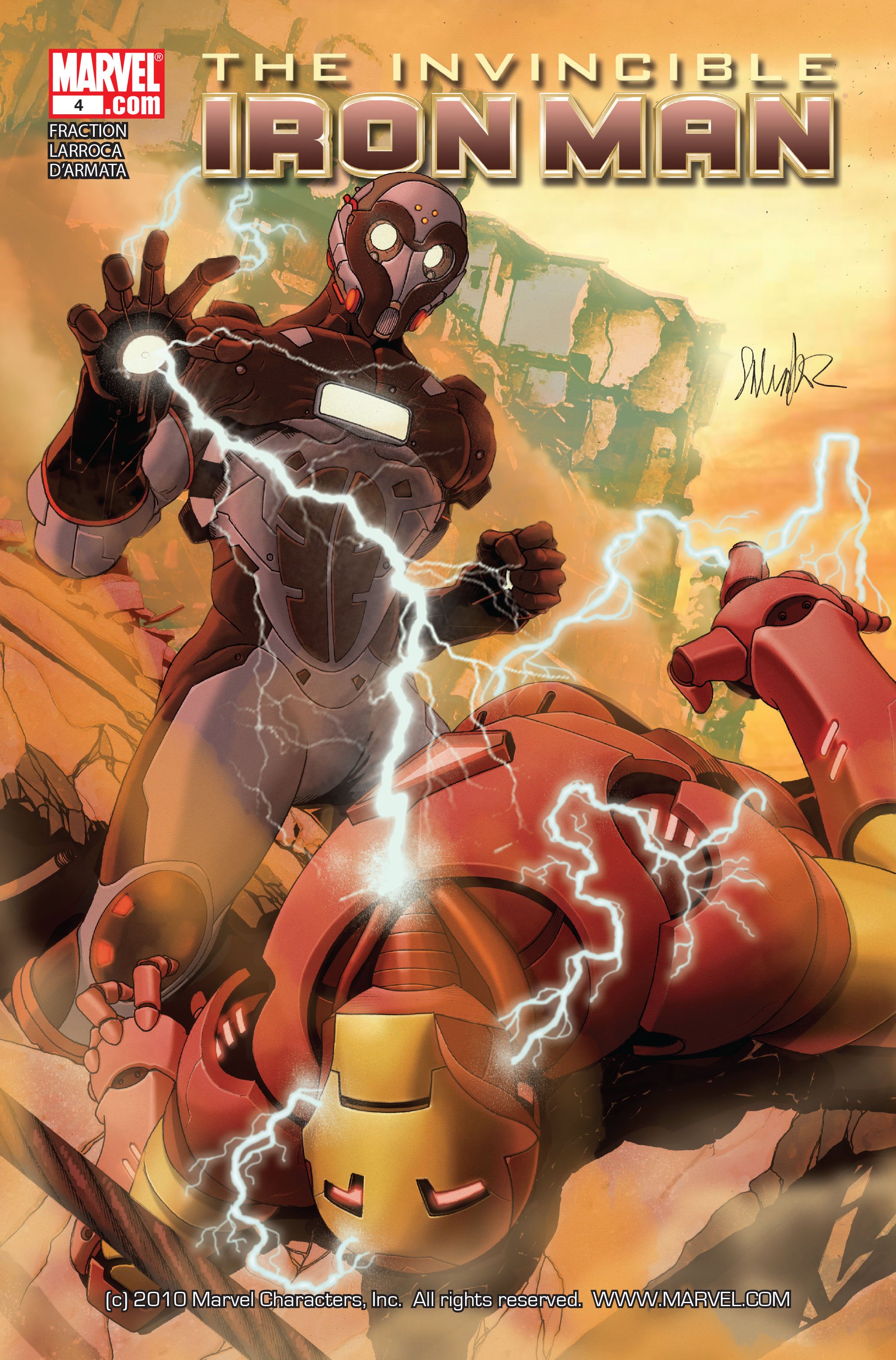 Invincible Iron Man (2008) 4 Page 1