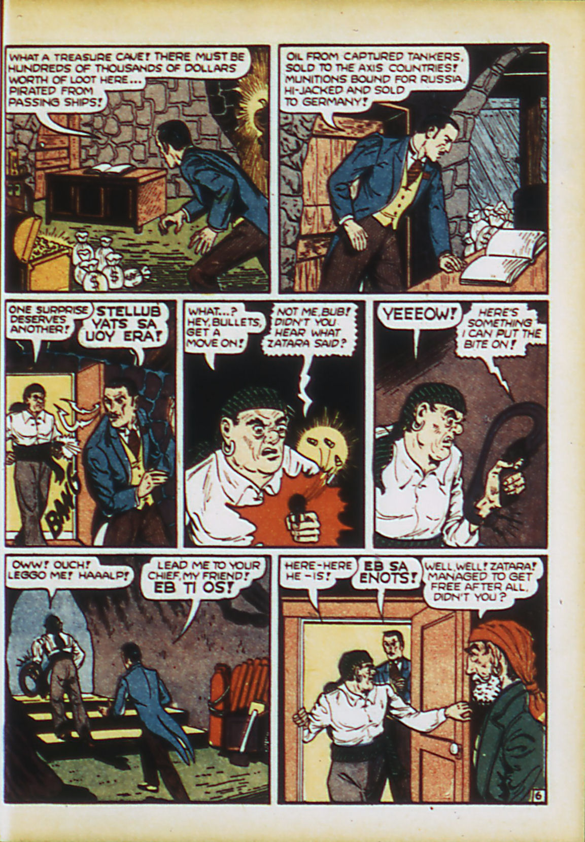 Read online Action Comics (1938) comic -  Issue #63 - 56