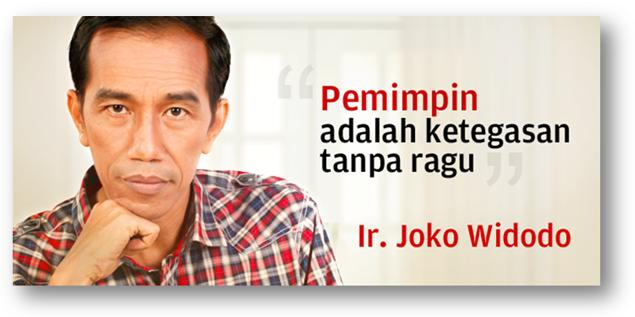 Kata Bijak ala Joko Widodo Presiden Indonesia - Berbagi Kata