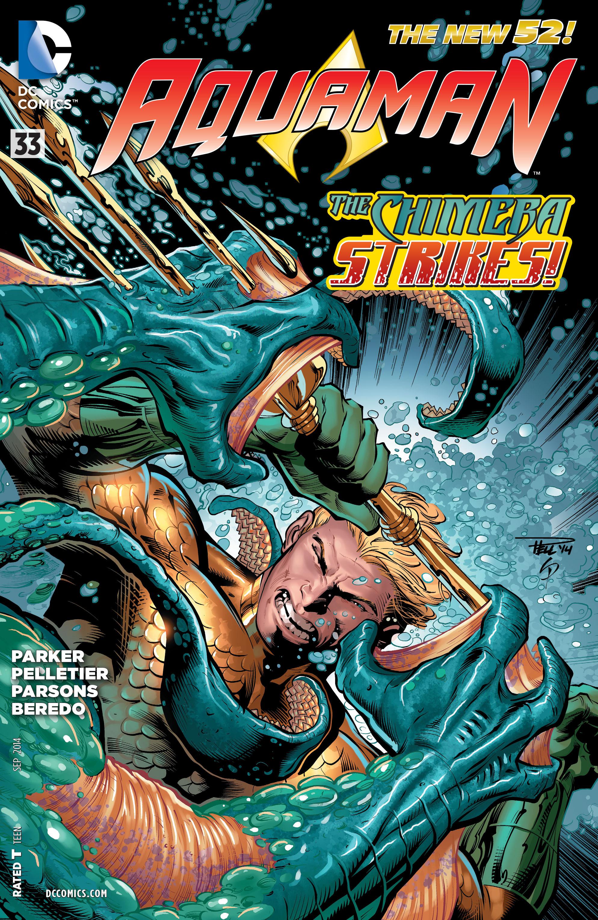 Read online Aquaman (2011) comic -  Issue #33 - 1
