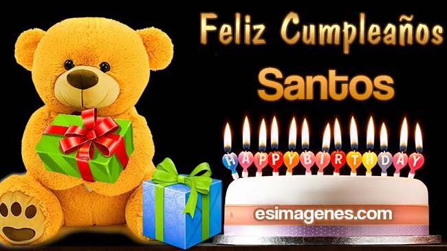 Feliz Cumpleaños Santos