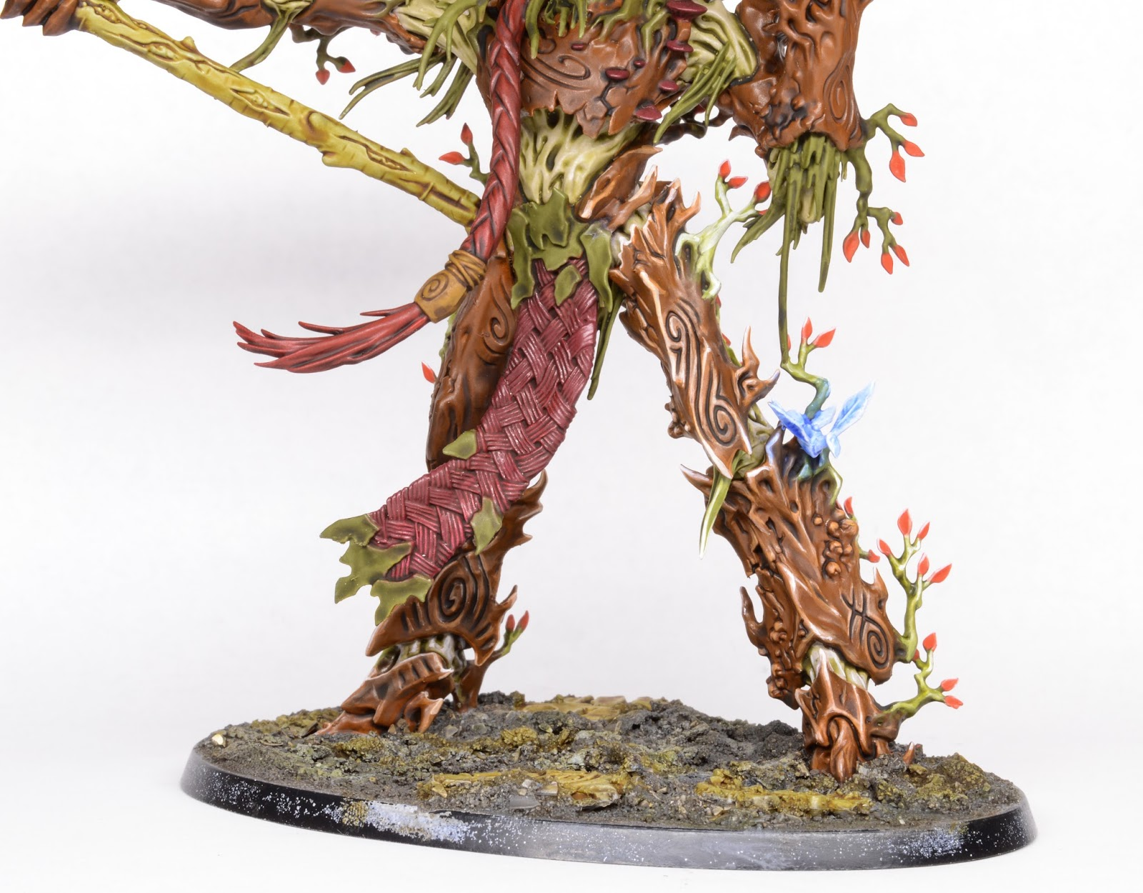 WIP: Sylvaneth Treelord Ancient #1 - Tale of Painters