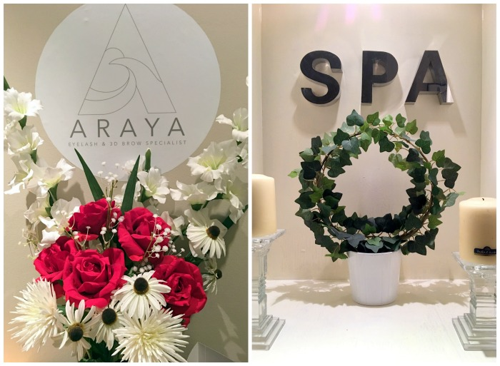 Araya beauty salon in Leopardstown Dublin