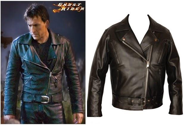 Gambar Jaket Kulit Ghost Rider Online