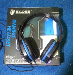 Review Headset Gaming Sades Chopper SA711