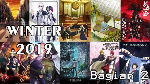 List Anime Winter Musim Dingin 2019 dan Daftar Karakter, Genre, Sinopsis dan Tanggal Rilis [Bagian 2]
