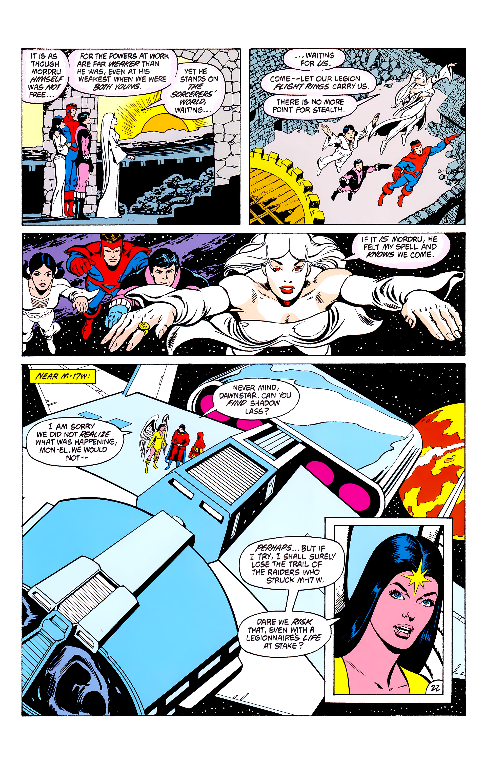 Legion of Super-Heroes (1980) _Annual_3 Page 22