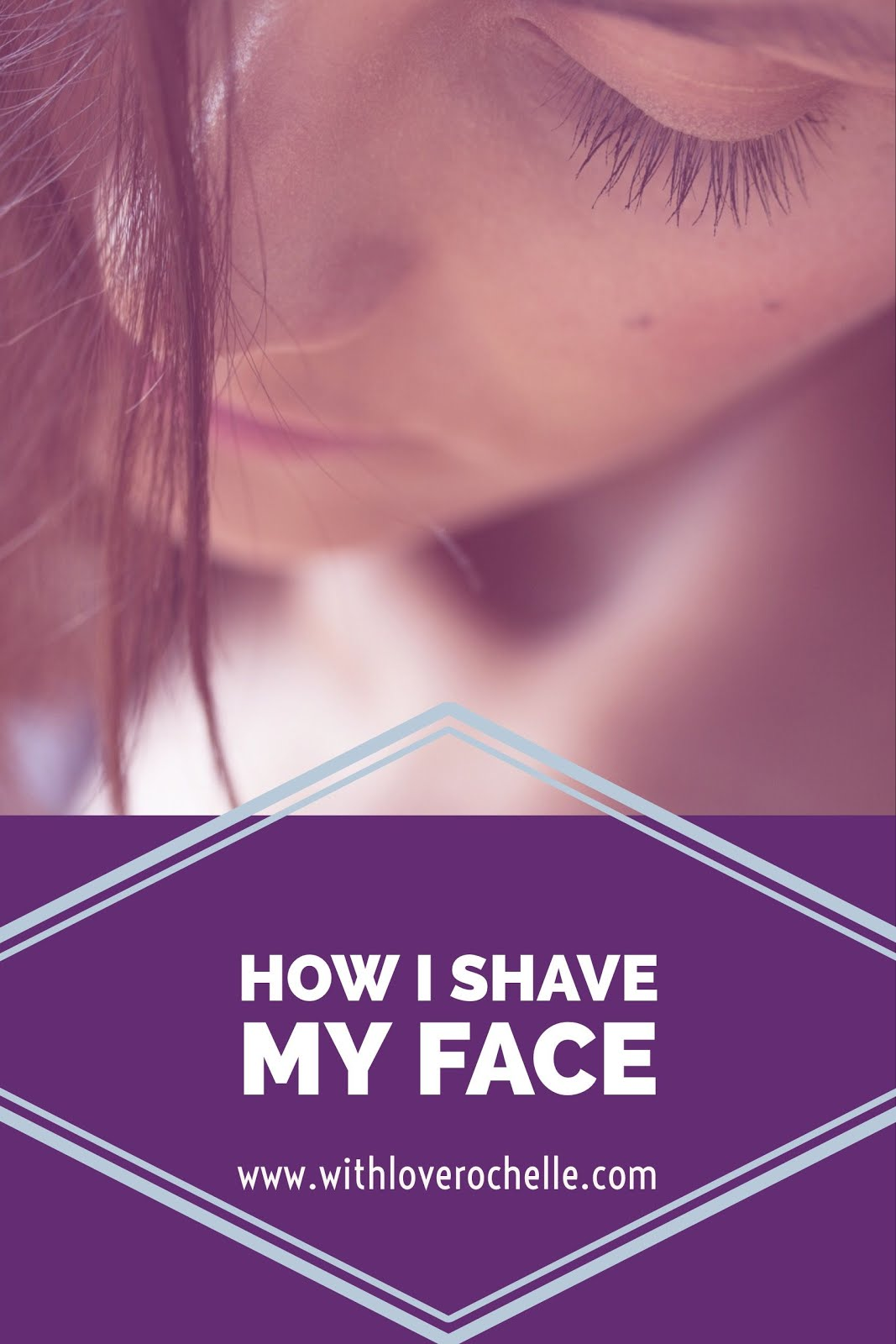 Simple and quick way to shave your face with Nangai Oil and Eyebrow Razors