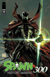 SPAWN #300 - Todd McFarlane Covers!