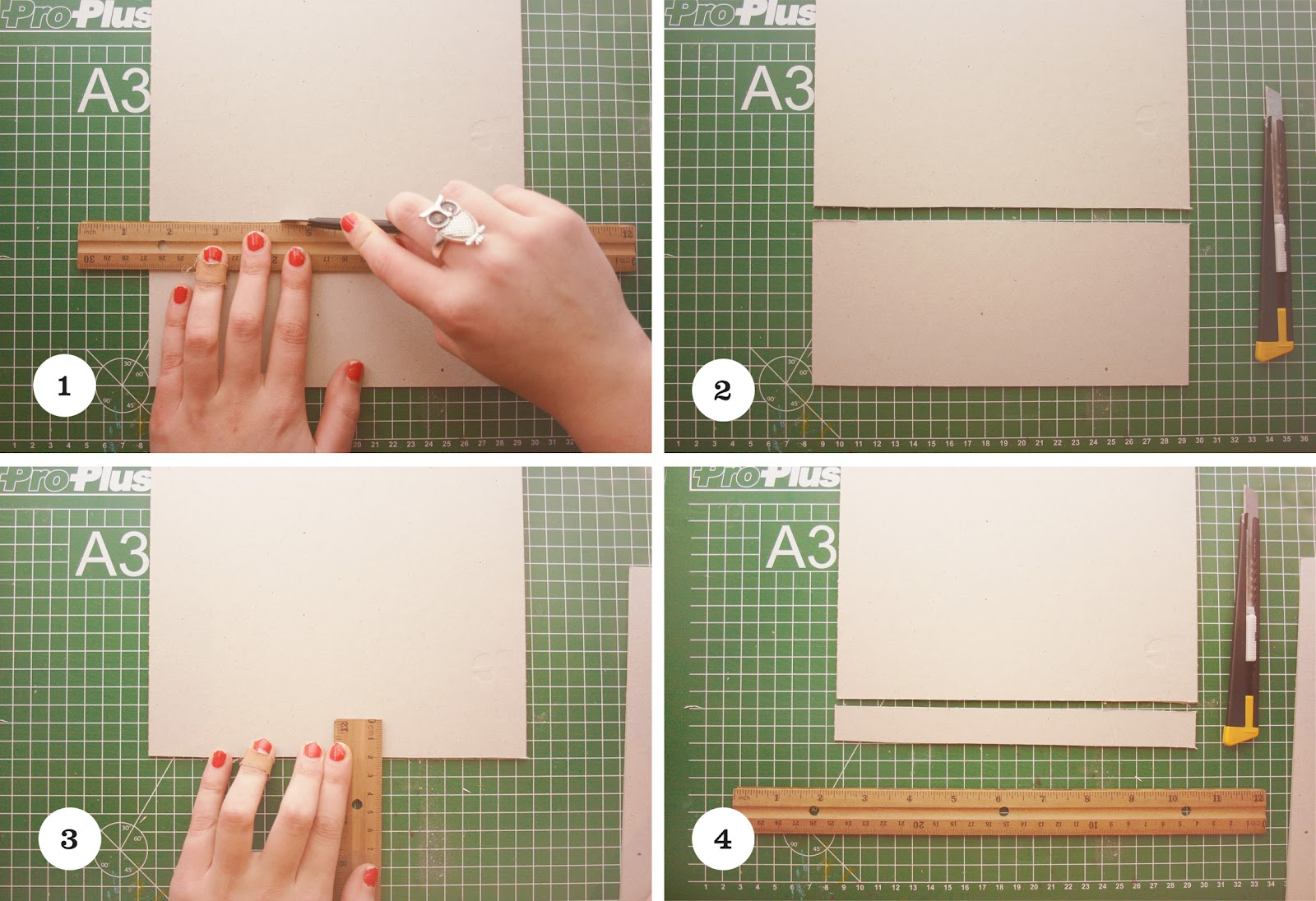 how to cut the binding off a book