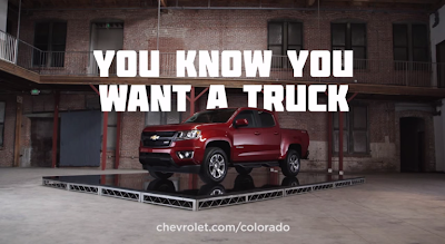 "Chevrolet says, ""You Know You Want A Truck"""