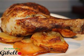 Pollo al pimentón de La Vera