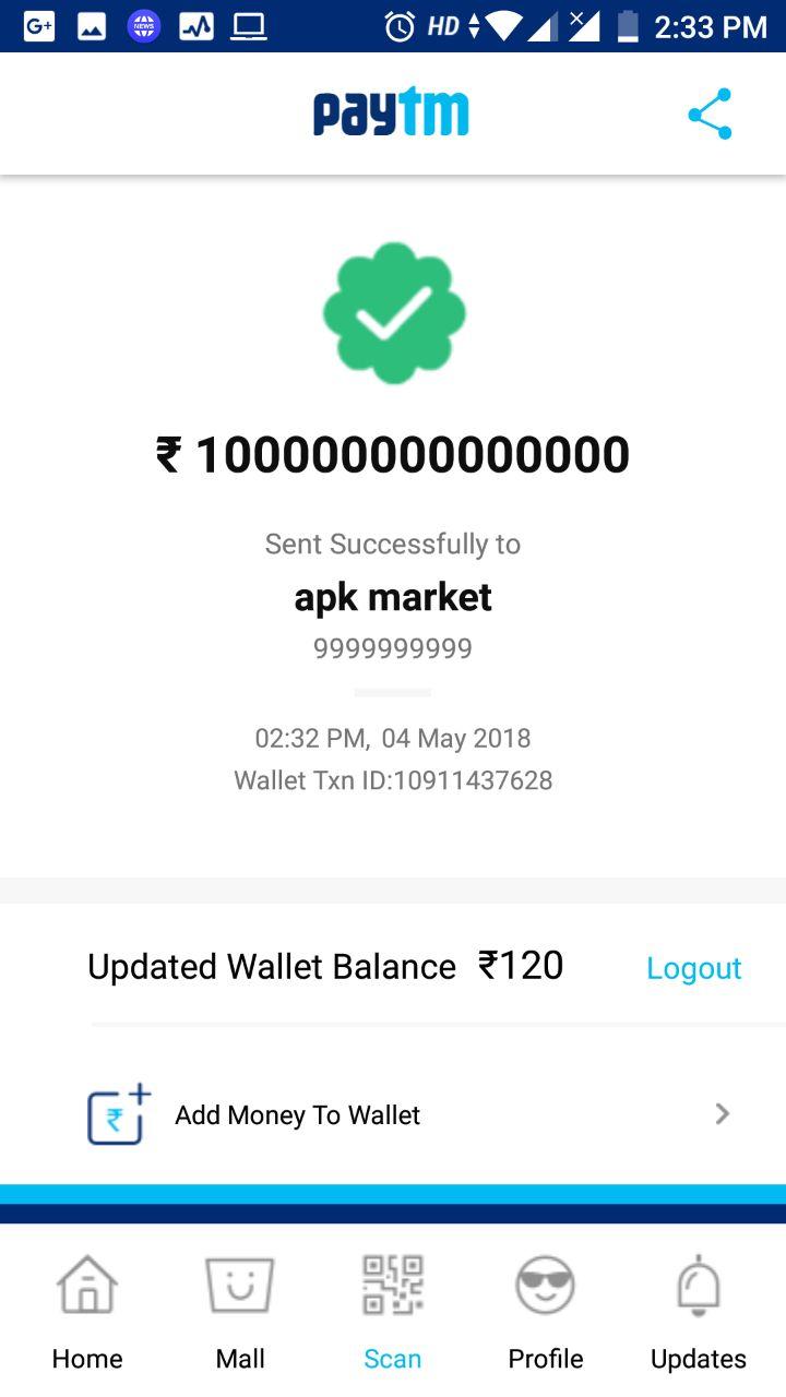 How to hack paytm wallet and unlimited earnig - Hindi guru ji Tips