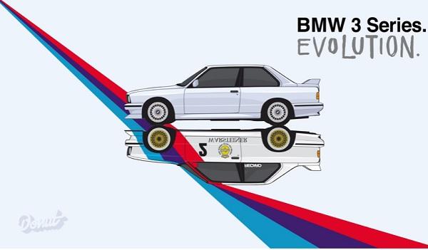 Así fue evolucionando el BMW Serie 3 a lo largo de sus 41 años de vida (video)