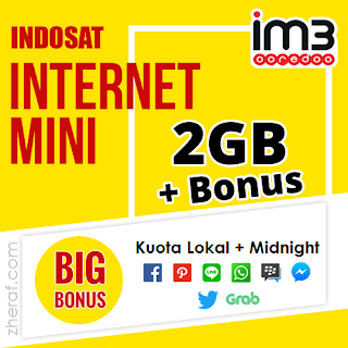 Tembak Paket Internet Indosat Mini 2GB