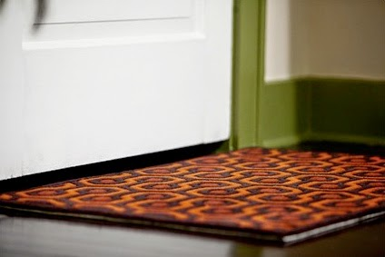 Mad For Mid Century Shining Carpet Pattern Doormat