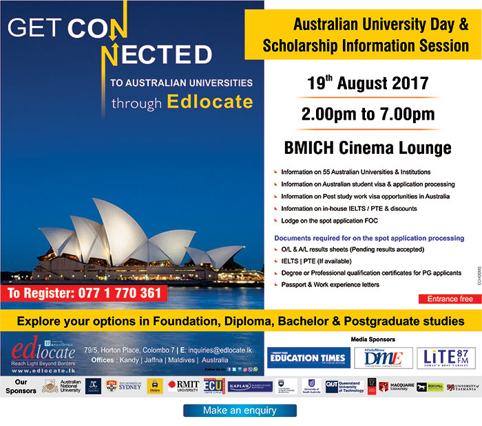 edlocate | Australian University Day & Scholarship information session.