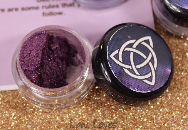 Notoriously Morbid The Wicca Wonder Eyeshadow Swatches & Review