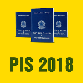 Tabela de pagamento do PIS 2018