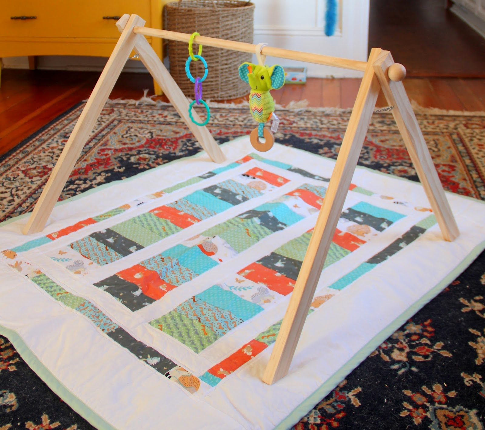 EAK A House DIY Baby Gym