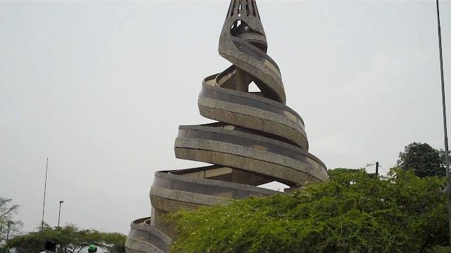 Monument Ewondo (Yaunde) People: The Original Inhabitants Of Yaounde, The Capital Of Cameroon