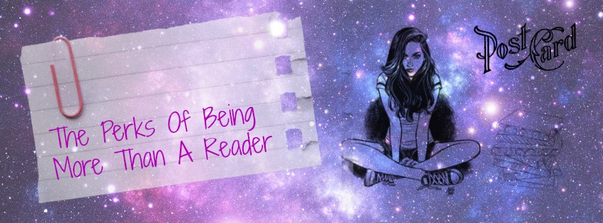 the perks of being more than a reader
