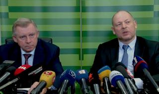 Заступник глави НБУ Смолій і колишній голова Приватбанку Дубілет