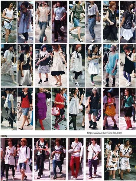 Terkenalnya Trend Gaya Busana Jepang