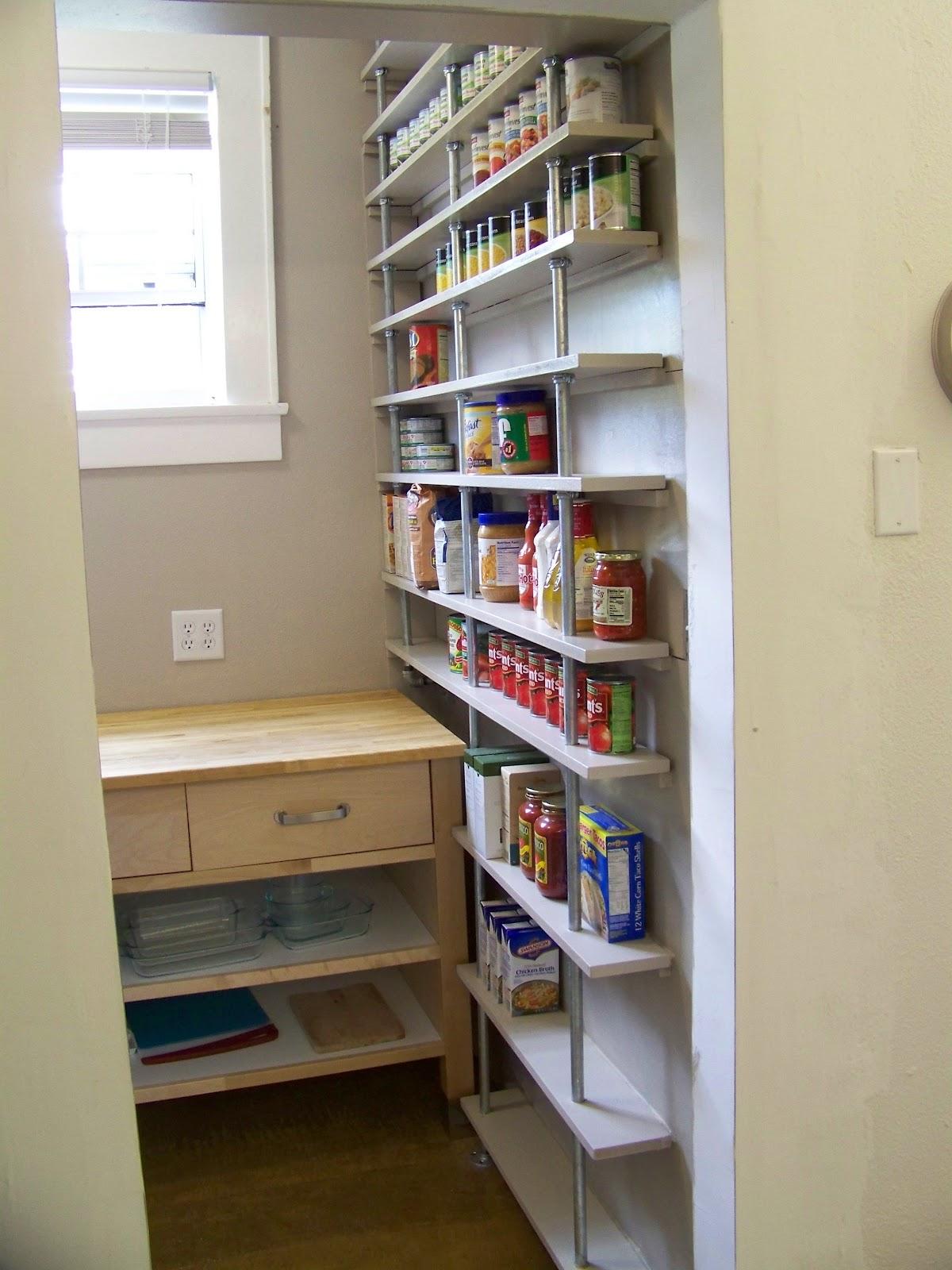 Ck And Nate Header Pantry Shelves Done