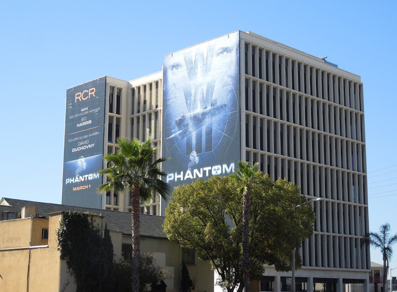 Giant Phantom movie billboards Sunset Boulevard