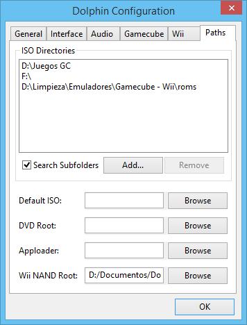 Blog de Emulación : [Guia] Dolphin v4 0-1720 (Gamecube/Wii