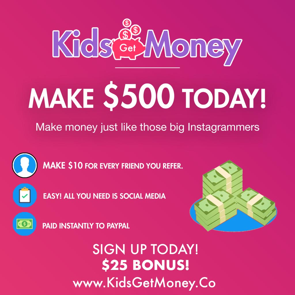 Kids Get Money